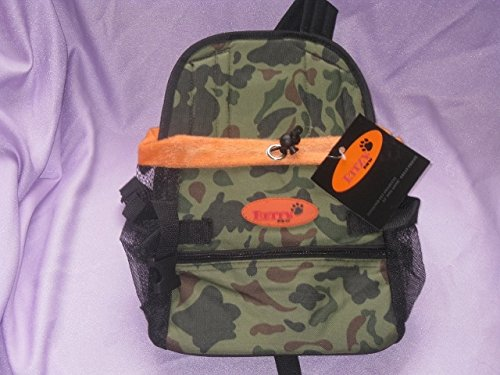 Dog Carrier Front Pack for Dogs Comfortable Front Carrier, Medium, Camouflage (Camouflage Carrier Dog)