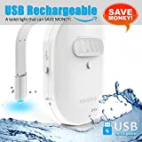 #10: Rechargeable Toilet Light with IP67 Waterproof Design, eplaybuy Toilet Night Light with 12 Color Changes, Motion Activated in Darkness Only
