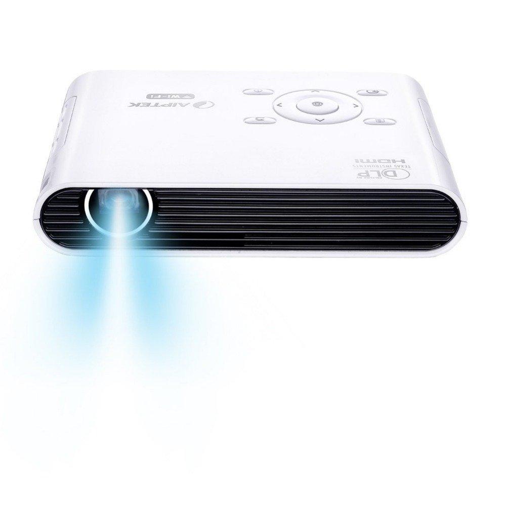 MU Aiptek V150W nuevo inalámbrico inteligente HD mini proyector ...
