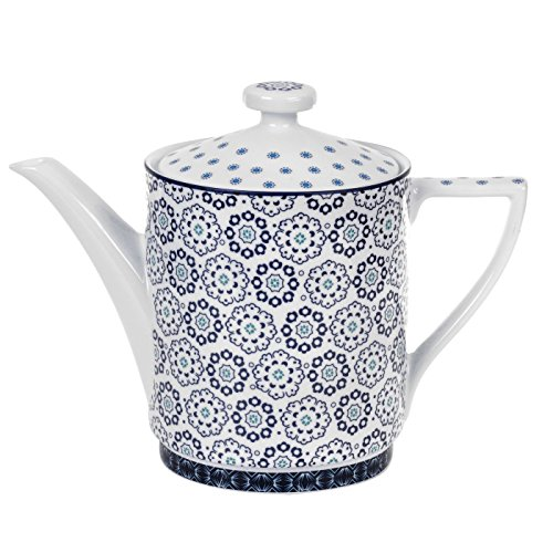 Portmeirion Ted Baker Casual Teapot Langdon Blue