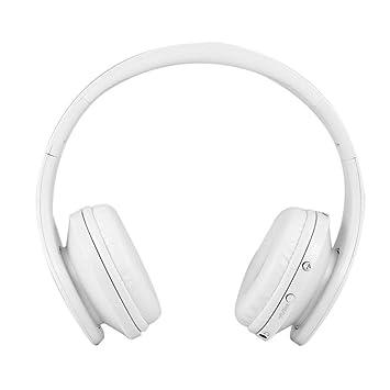 Candora - Auriculares inalámbricos con Bluetooth y micrófono, Plegables, para PC y portátil