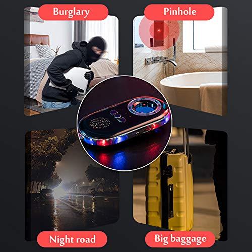 PROMOTOR Anti Hidden Camera Detector 3 in 1 Spy Camera Finder Anti Alarm for Door Window Suitcase Travel Security Box