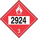 2924 (Flammable Liquid, Corrosive, n.o.s.) (50 Pack)