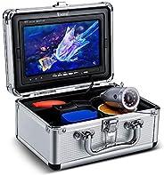 Eyoyo Underwater Fishing Camera 7 inch Color Screen 1000TVL Waterprood IR Camera for Lake Boat Sea Ice Fishing