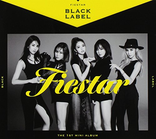 CD : Fiestar - Black Label (1st Mini Album) (Asia - Import)