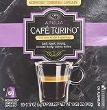 Cheap Cafe Turino Italian Style Espresso, (Apulia, 60 count) Nespresso Compatible Capsules