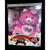 Special Collectors Edition Pink Care Bear 25th Anniversary Swarvoski Crystal Eyes with Bonus DVD by Care Bears