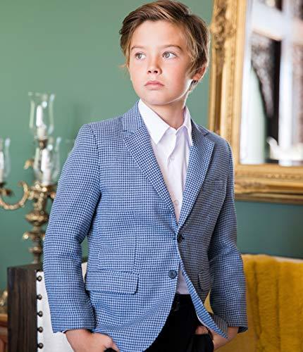 Luca Gabriel Toddler Boys 4 Piece Vest Shirt Tie Pant and Hanky Set