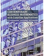 Contemporary Business Mathematics, 12th Cdn. edition with MyMathLab
