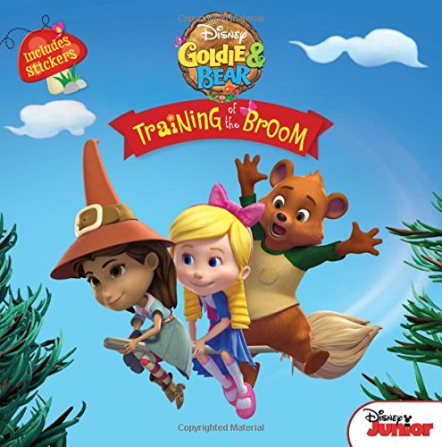 Goldie and Bear Training of the Broom (Disney Goldie & Bear) pdf