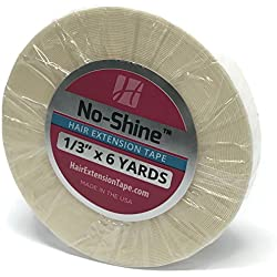 "No Shine 1/3"" x 6 Yards Tape - Walker Bonding Clear Double Sided"