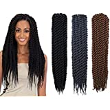 2X twist crochet braids