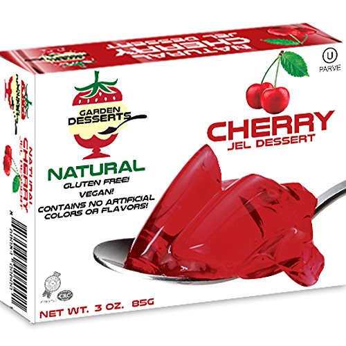 Garden Desserts All Natural Cherry Jel (Pack of 5)