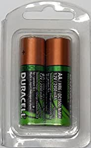 Amazon.com: Duracell AA Rechargeable Batteries, 2,450 mAh