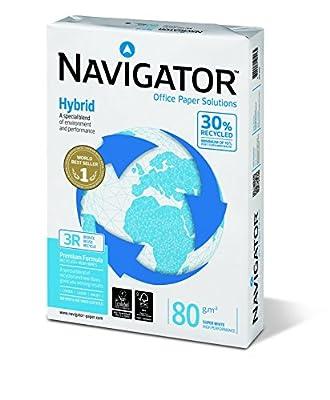 Navigator Hybrid Papier/WP2080 DIN A4 hochweiß 80 g/qm Inh. 500