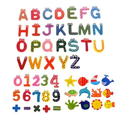 12pcs Novelty Animals Wooden Fridge Magnet Cute Children Toy - 2