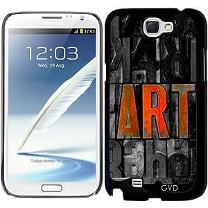 Funda para Samsung Galaxy Note 2 (GT-N7100) - Arte by Paslier