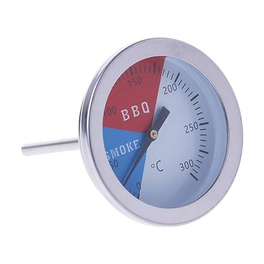 Fogun - Termómetro de 300 grados para barbacoa o horno con medidor ...