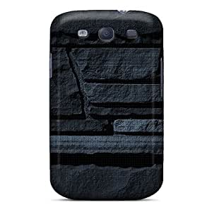 Galaxy S3 Cover Case - Eco-friendly Packaging(stone Bricks) by supermalls