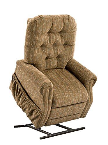 (Medlift 2555W-BH Bromley Two-Way Reclining Lift Chair, Havana)