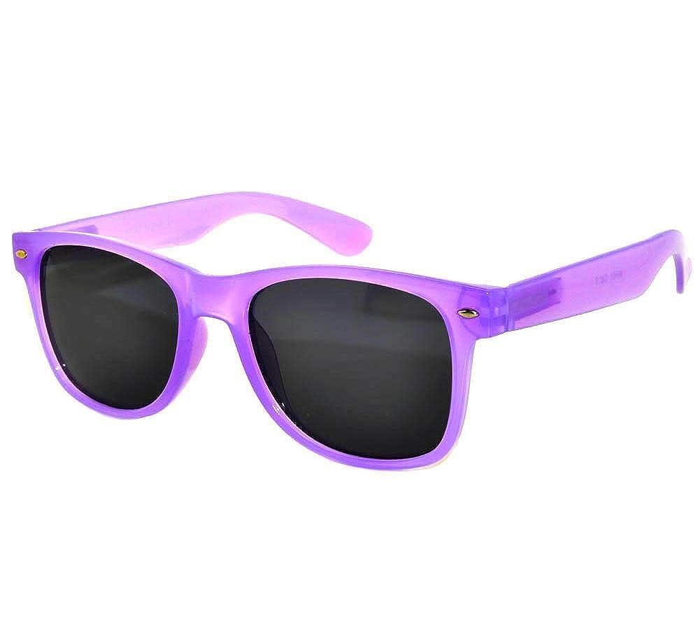 Purple Vintage Retro Purple Sunglasses Glow in the Dark Frame Smoke Lens Vintage