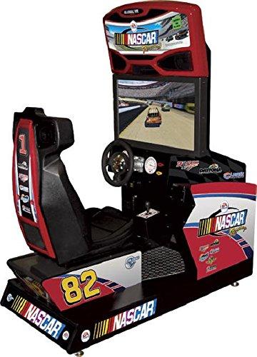 amazon com nascar racing arcade game machine toys games