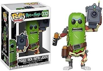 Funko Pop!- Rick & Morty: Pickle Rick con Laser (27862)