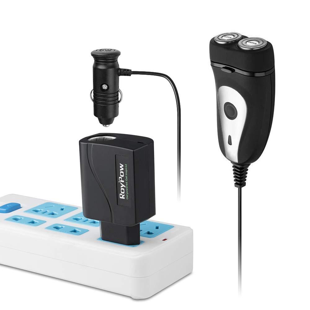 RoyPow KFZ Netzadapter 2A Spannungswandler Gleichrichter mit Zigarettenanz/ünder-Buchse KFZ Netzteil 230V auf 12V