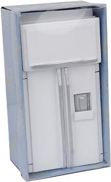 1//12 Casa De Munecas Muebles En Miniatura Nevera Refrigerador