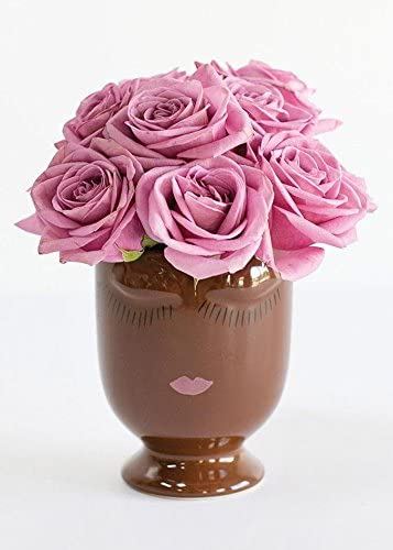 Afloral Accent Celfie Vase 4 x5.25 Medium, Chocolate