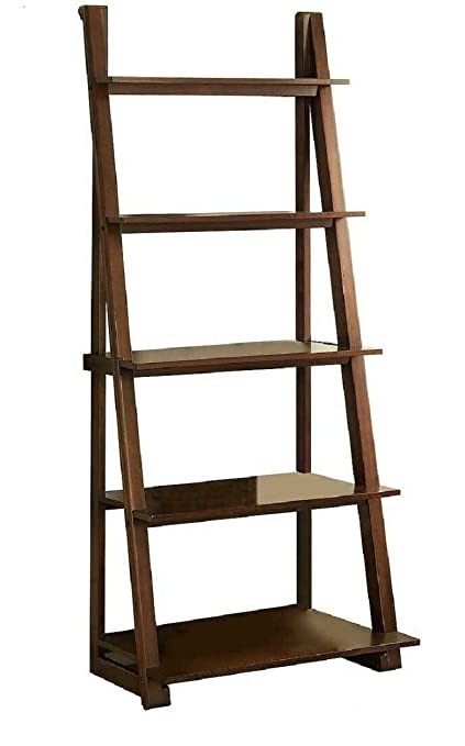 the latest 94352 1dd3f Whalen Bayside Karina Ladder Bookcase, 29.5 in x 20.5 in x 72 in