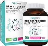 Organic Breastfeeding Supplement - Increase Milk Supply & Herbal Lactation Support | Aid