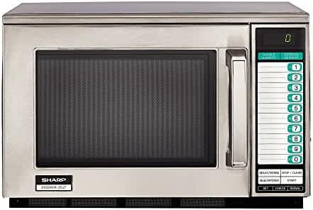 Sharp R-25JTF Heavy-Duty 2100W Commercial Microwave