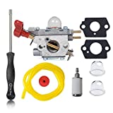 HIFROM Carburetor with Screwdriver Tool for ZAMA C1U-P27 MTD 753-06288 MS2550 MS2560 MS9900 TB2040XP Craftsman Troybilt Yard Machine Trimmer Carb