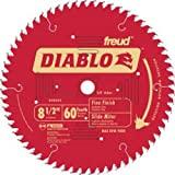 Freud D0860S Diablo 8-1/2-Inch 60 Tooth Fine Finishing Miter Saw Blade with 5/8-Inch Arbor