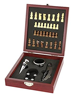 SLC Wine Tool And Chess Set