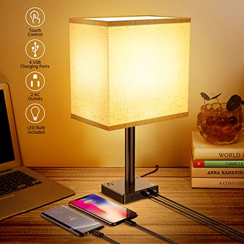 Great lamp, love the touch button