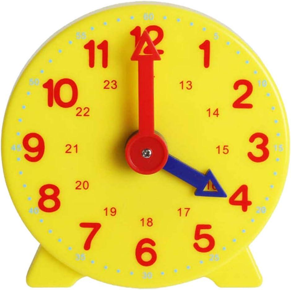 Yuciya Reloj de Aprendizaje, Reloj Analógico, Educación en el Hogar, 12 Horas, Desarrollo Matemático Básico