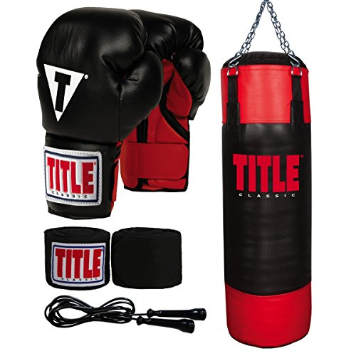 TITLE Youth Heavy Bag Set by Title Boxing