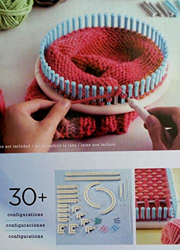 Wayion Multi-Function Craft Yarn Martha Stewart Crafts Knit and Weave Loom Kit DIY Tool by Wayion (Image #4)