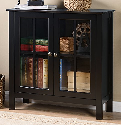 glass accent cabinet - 4