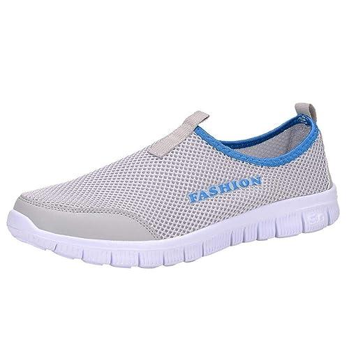 Logobeing Zapatillas Deporte Mujer con Plataforma Botines Deportivos Mujer Zapatos Seguridad Mujer Comodos Running Mujer: Amazon.es: Zapatos y complementos