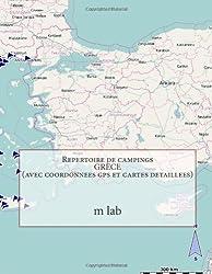Repertoire de campings GRÈCE  (avec coordonnees gps et cartes detaillees)
