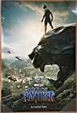 BLACK PANTHER MOVIE POSTER 2 Sided ORIGINAL INTL Advance 27x40 CHADWICK BOSEMAN