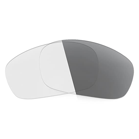 58893f087d Revant Replacement Lenses for Oakley Jawbone Elite Adapt Grey Photochromic   Amazon.co.uk  Clothing