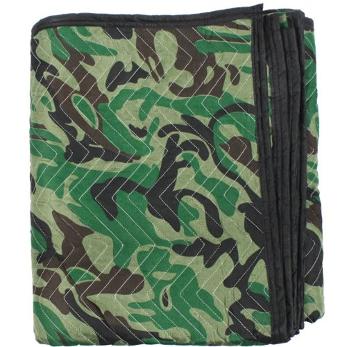 "Moving Blanket (24-Pack) 72"" X 80"" US Cargo Control - Camo (130 Lbs/2 Dozen, Camouflage) by US Cargo Control (Image #3)"
