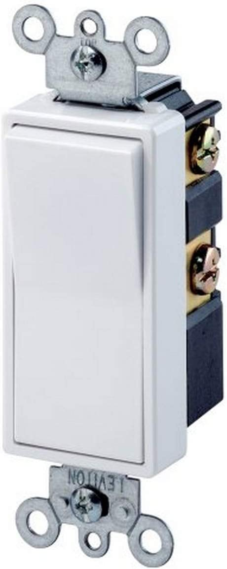 Leviton 5604-2W, Small, White