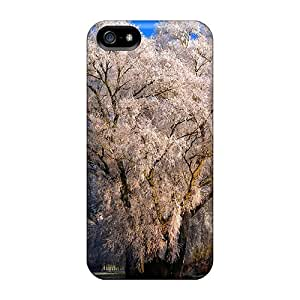 New Frosty Willow Tpu Case Cover, Anti-scratch BrianLee Phone Case For Iphone 5/5s