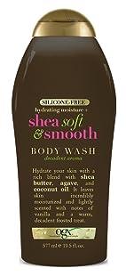 Ogx Body Wash Shea Soft & Smooth 19.5 Ounce (577ml) (2 Pack)