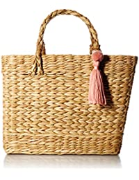 Maura Straw Basket Handbag